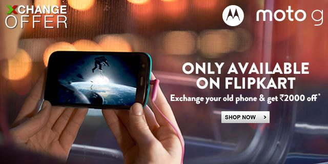 Moto G Exchange Offer