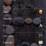 apps screen of nokia z launcher