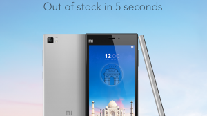 mi3 sold out 5 seconds