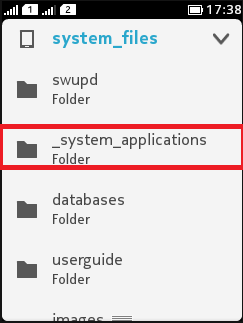 System Application