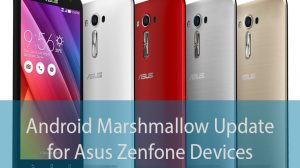 Zenfone MArshmallow Update tag