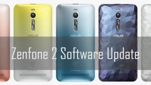 zenfone 2 software update