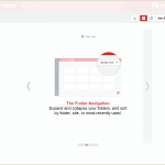 LastPass Folder navigation Menu