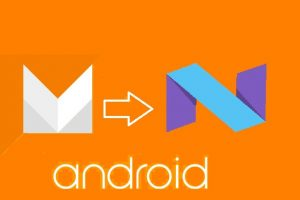 Upgrade Android M to Android N