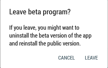 leave-beta-program