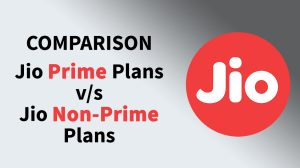 jio prime vs non prime plan comparison