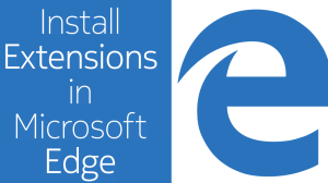edge how to install extensions