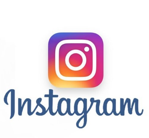 instagram logo with branding