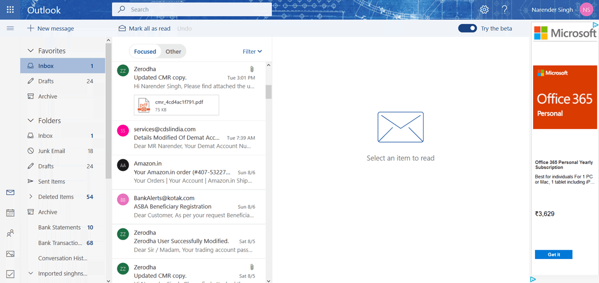 Stop Outlook com from highlighting possible meetings & events