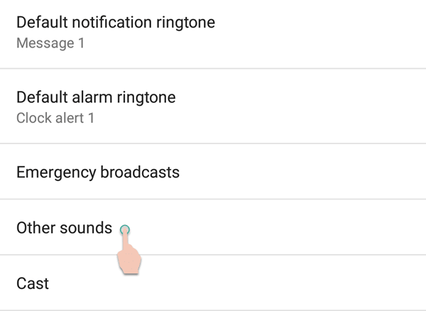 Sound Settings Nokia 6 Android