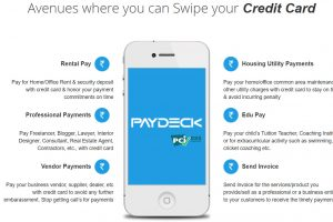 PayDeck can be used for many types of payments