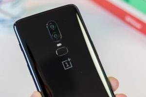 OnePlus 6 back mirror black