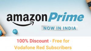 Free Amazon Prime with Vodafone postpaid