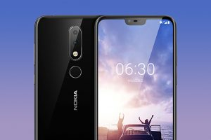 Nokia X6 front and back