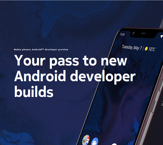 Nokia 8.1 Android Q - Nokia Developer