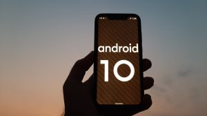Android 10 on the Nokia 8.1