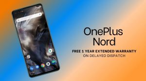 OnePlus Nord warranty extension