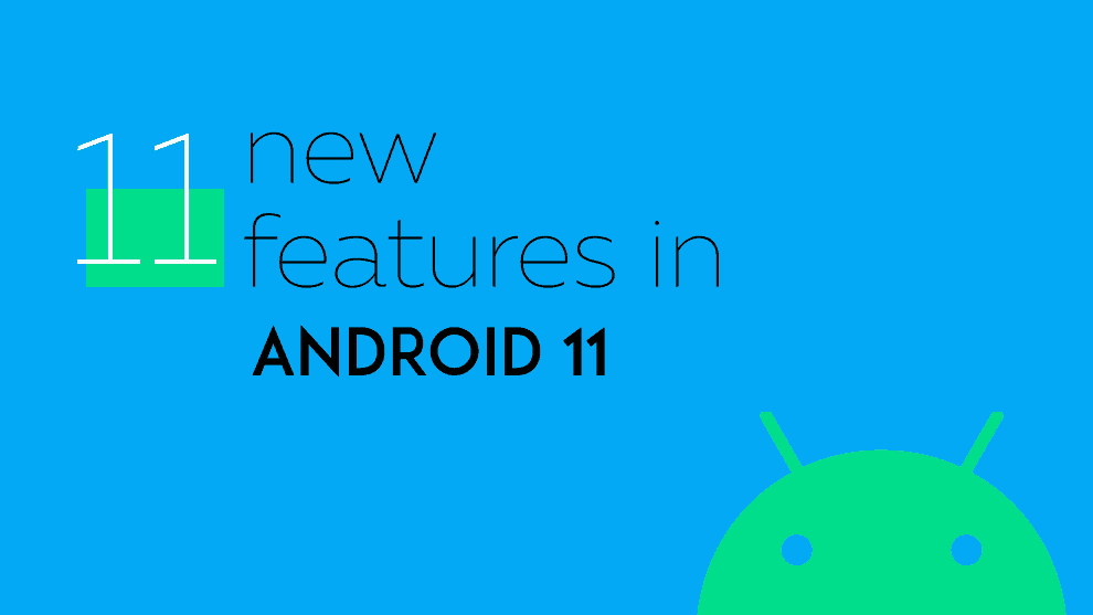 New features in Android 11