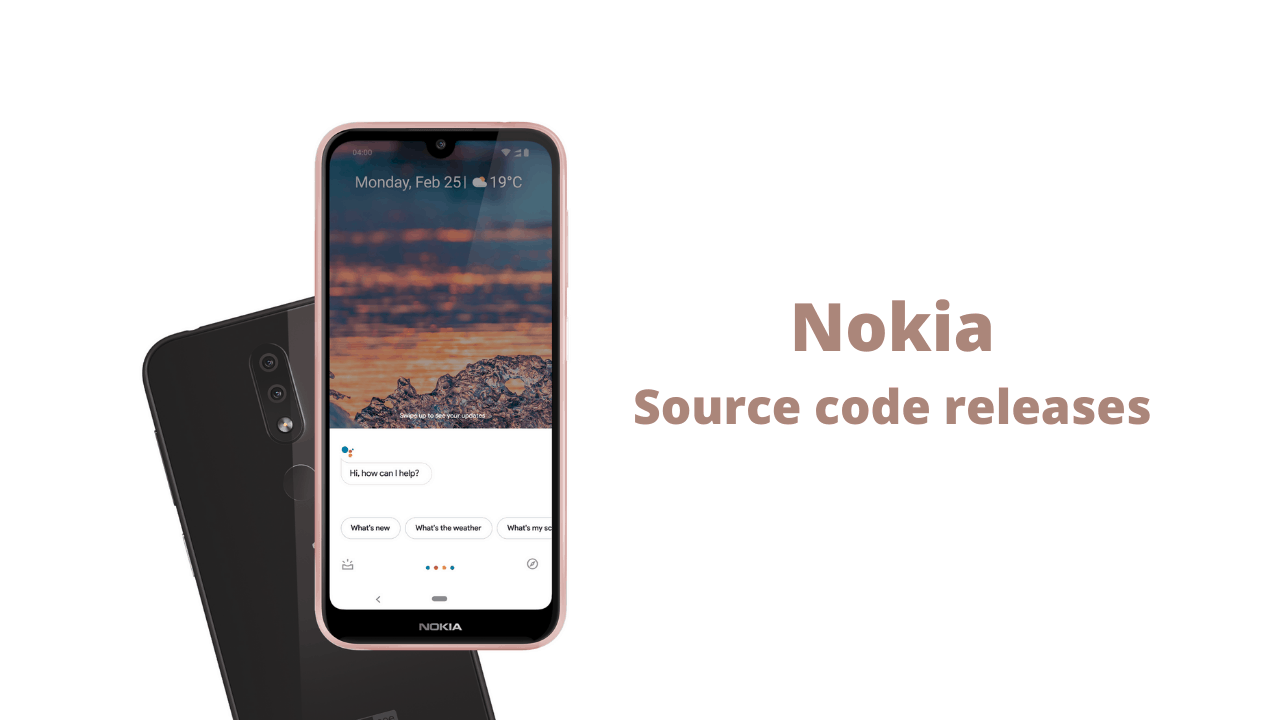 Nokia released Kernel Source Code for Nokia 7.2 , 6.2