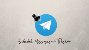 Schedule Messages in Telegram