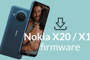 Nokia X20, Nokia X10 factory firmware and flash file downloads