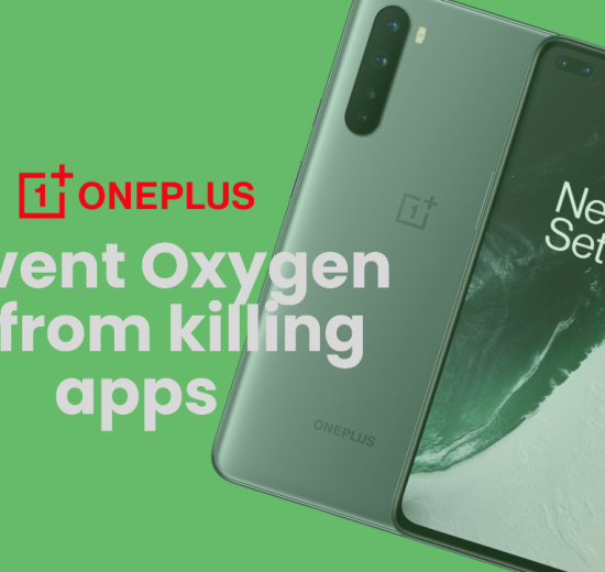 Prevent Oxygen OS from Killing Apps