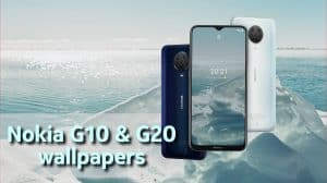 Nokia G10 & G20 stock wallpapers download