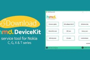 Download HMD DeviceKIt service tool for Nokia smartphones and tablets