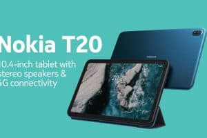 Nokia T20 tablet front and back image